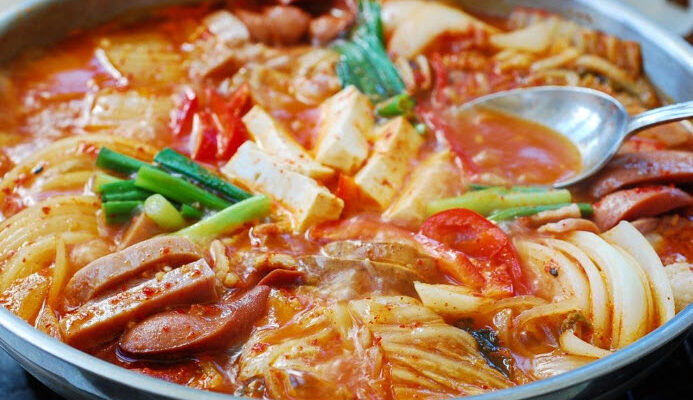 Easiest Way to Cook Yummy Budae-Jjigae Army Base Soup/ Stew